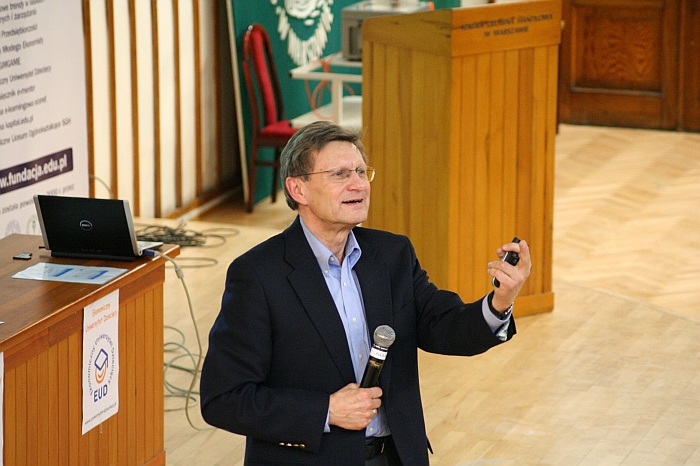 prof. L. Balcerowicz na EUD