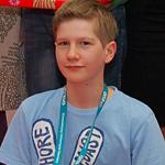 Najlepszy student II edycji EUD w Kielcach: Antoni Kasprzyk
