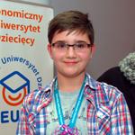 Najlepszy student III edycji EUD w Kielcach: Marcel Nowak